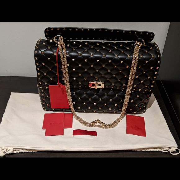 Valentino  Lambskin shoulder bag